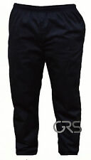 Poly Cotton Chef Trouser Classic Professional Chef's Pants Unisex Design Small Black