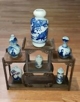 ANTIQUE CHINESE GIFT SET (Classic White and Blue Porcelain)