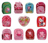 Kids Peppa Pig George School Rucksack Backpack Brand New Gift