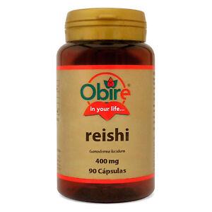 REISHI ( MICELIO ) 400 mg 90 Cápsulas - OBIRE -