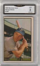 GEORGE SHUBA -- 1953 BOWMAN COLOR -- #145 --  GRADED VG 3