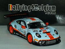 1/43 Spark Porsche 911 GT3 R #20 GPX Gulf Winner Spa 24h 2019 Estre Lietz SB251H