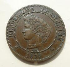 Cérès 5 centimes 1879 A RARE DANS CET ETAT