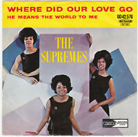 "The Supremes "" Where did our love go  "" Dutch 45 Tamla Motown Hear"