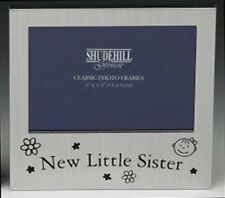 """New Little Sister Photo Picture Frame Gift - 5 x 3.5"""""""
