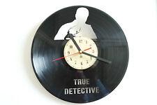 True Detective Vinile Record Orologio da parete camera da letto salone ufficio negozio Club CASA AR