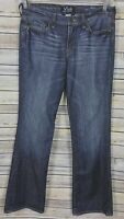 LUCKY BRAND WOMEN'S SWEET N' LOW DUNGAREES JEANS BOOT CUT SIZE 10/30