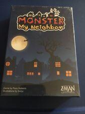Monster My Neighbor ,  Z-man  Games NEW Illustrations By Sunju