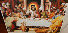 """ALIX BEAUJOUR """"THE LAST SUPPER"""" AFRICAN AMERICAN LITHOGRAPH"""