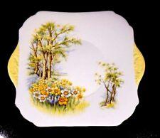 Beautiful Shelley Daffodil Time 13370 Cake Plate