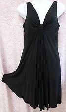 Womens black dress by formul jovan size 40 polyester nightclub ware