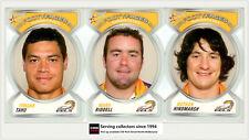 2006 NRL Accolades Series Trading Cards Face Die Cut Team Set Eels(10)