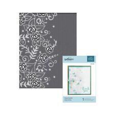 Spellbinders Cut & Emboss Flower Garden folder CEF-002 Wedding leaves border