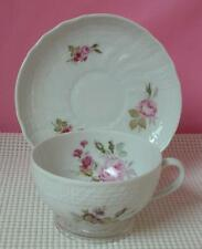 DRESDEN Hutschenreuther CUP & SAUCER Bone China Pat #9560 Floral Sprays Germany
