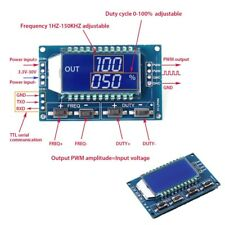 3.3 -30V Signal Generator PWM Pulse Frequency Duty Cycle Adjustable Module LCD