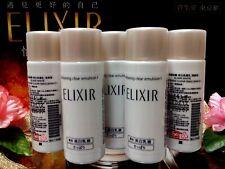 "☾5 PCS☽Shiseido ELIXIR WHITE Whitening Clear Emulsion C I◆☾18mL☽◆✰☾""Medicated""☽✰"