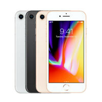 Apple iPhone 8 - 64GB - Space Gray, Gold, Silver (AT&T) Smartphone - Very Good