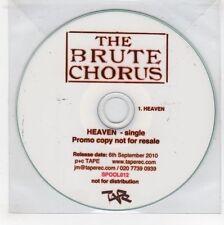 (GJ536) The Brute Chorus, Heaven - 2010 DJ CD