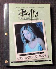 2001 BUFFY THE VAMPIRE SLAYER Script Book Season 2 Vol. 2 FN 6.0 1st Pocket PPB