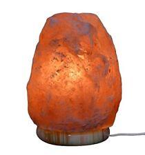 HemingWeigh Natural Himalayan Rock Salt Lamp 6-7 lbs with Marble Base