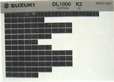 Suzuki DL1000 V-Strom 2002 Parts Catalog Microfiche s422