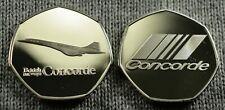 BRITISH AIRWAYS, CONCORDE Fine Silver Commemorative Albums/Filler Collectors