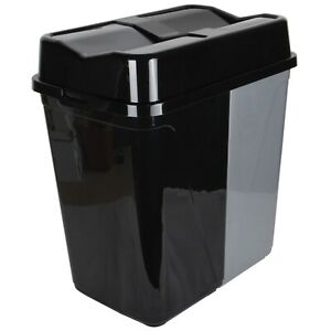 Double Rubbish Waste Separation Bin Recycling. Dual Compartment 100L (2 x 50 L)