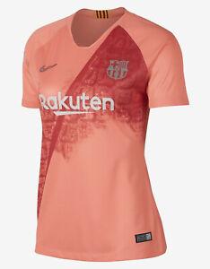 Nike 2018-19 Barcelona Third Women's Jersey Soccer Atomic Pink 919206 694