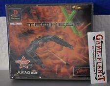 Tempest X3 OVP Sony Playstation 1 P1 PSX Pone NEU NEW BOX in Folie PSone Atari
