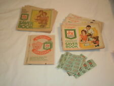 S&H Green Stamps Approx 10,000 in 10 Books
