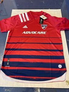 Adidas MLS FC Dallas Home 20/21 Replica Jersey Size XSmall NWT's Free Shipping