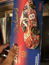 Dale Earnhardt Jr 2000 Bud Budweiser Olympic #8 Rookie Chevy 1/24 NASCAR Signed!