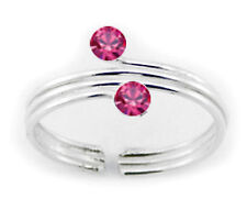 Silver 925 Best Deal Jewelry Rose Adjustable Triple Wire Toe Ring Sterling