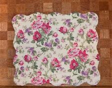 "Great Finds ""Gina"" Floral Quilted Placemat ~ Free Shipping ~"