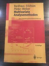 Fachliteratur: Multivariate Analysemethoden
