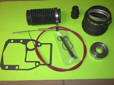 OMC Cobra Rubber Bellows Boot Transom Repair Kit Gimbal Bearing  SHIFT CABLE