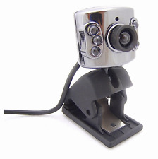 New Mini USB 6 LED Web Webcam Camera With Microphone Mic PC Laptop Skype #155