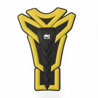 Motor 3D Rubber Gas Tank Pad Fish Bone Protector Sticker For Kawasaki Yellow