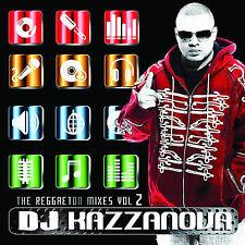 Dj Kazzanova-The Reggaeton Mixes Vol 2  CD NEW