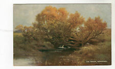 The Brook - Somersby Art Postcard c1915 / Horncastle