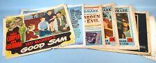 1948-1956 Gary Cooper 12 Lobby Cards 1 Poster 1 Pressbook Good Sam Task Force