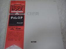 CELESTE-same Japan 1st.Press w/OBI PFM Banco Osanna Pink Floyd King Crimson Yes