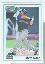 Jared Clark Colorado 2010 Bowman Prospects Refractor