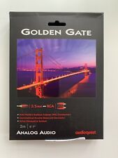 AudioQuest Golden Gate 3.5mm Male to RCA Male Cable - 6.56 ft. (2m)
