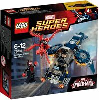 LEGO Super Heroes 76036 Carnage´s Attacke auf Shield Sky Attack Marvel Spiderman