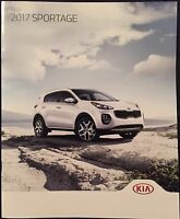 2017 Kia Sportage Original Sales Marketing Brochure LX, EX, SX Turbo