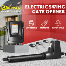KENNER Swing Gate Opener Electric Automatic Actuator Motor Remote Operator 601