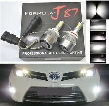 LED Kit C6 72W 9045 6000K White Fog Light Bright Upgrade Replacement Plug Play