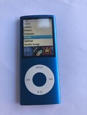 Apple iPod Nano 4th Generation Blue (16GB) Works But Short Battery Life