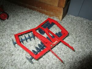 JI Case IH McCormick International Farm Toy Tru Scale Eska Carter Mounted Disk